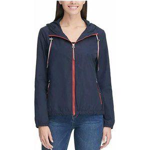 Tommy Hilfiger Ladies' Windbreaker Hoodie Jacket,